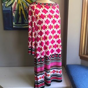 Eliza J Colorful Dress   14  NWT